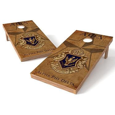 Fraternity Alpha Phi Delta Cornhole Wrap