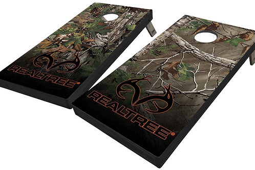 REALTREE EXTRA GREEN CORNHOLE BOARDS - Corn Bags -Free Shipping