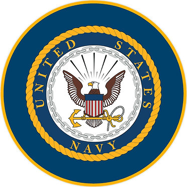 United State Navy Cornhole Decal Sticker