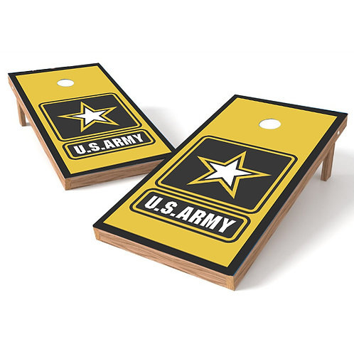 US Army Solid Military Cornhole Wrap