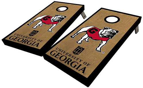 UNIVERSITY OF GEORGIA OLD DAWG CORNHOLE BOARD SET