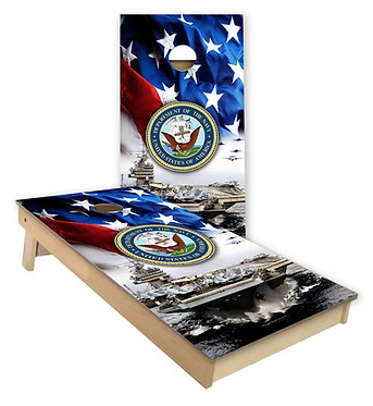 U.S. Navy 1 Cornhole Wrap
