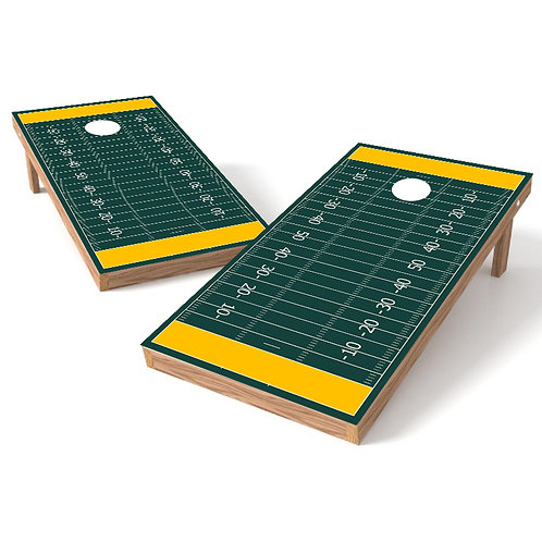 Greenbay Football Cornhole Board Wrap - Customize Free