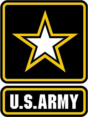 U.S. Army Cornhole Decal Sticker