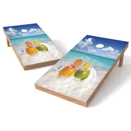 Umbrella Drinks On The Beach d18