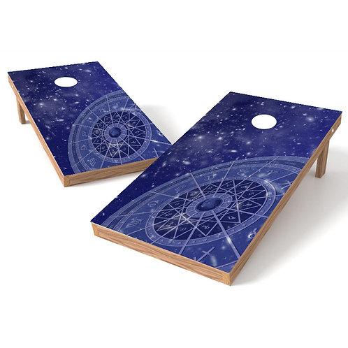 Zodiac Signs Cornhole Wrap