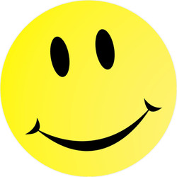 smiley face decal