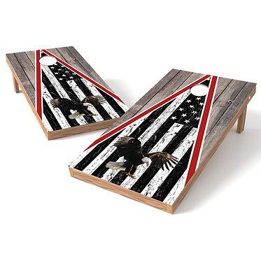 Eagle Wood Cornhole Wrap4
