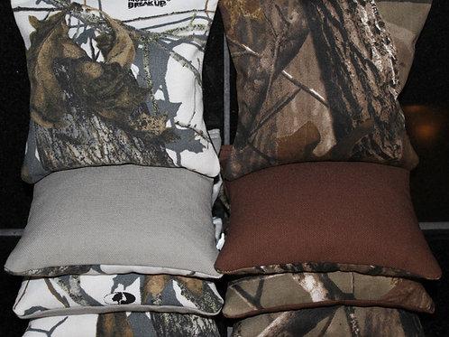 REALTREE Mossy Oak Camo Hunting Fishing Cornhole bags, set of (8)