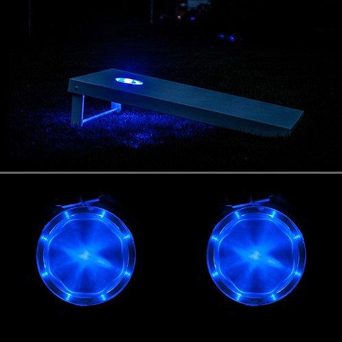 RING LIGHT SET ( 2 Rings) Board Light SET Cornhole Led Light Rings