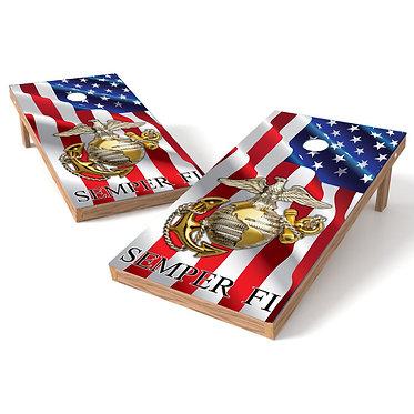 American Flag Semper Fi