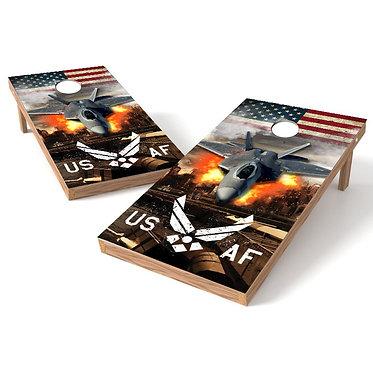US Air Force Cornhole Wrap