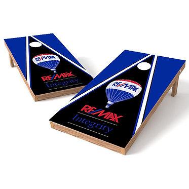 Logo Triangle Cornhole Board Wrap -Your Logo