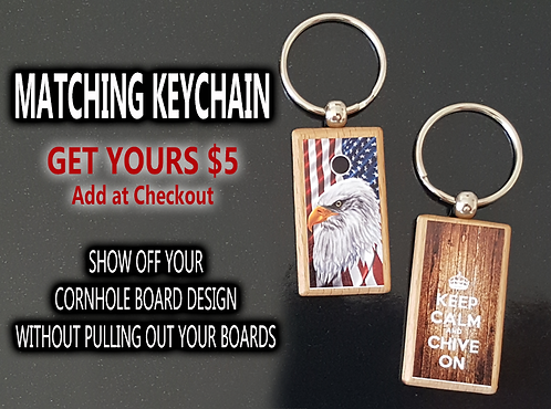 Matching Keychain