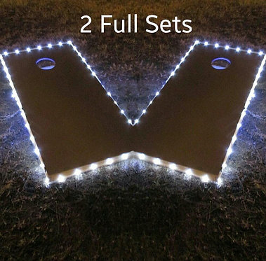 Cornhole Board Edge Lights - SET of (2)