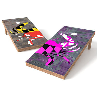 Maryland Crab Cornhole Board His Hers