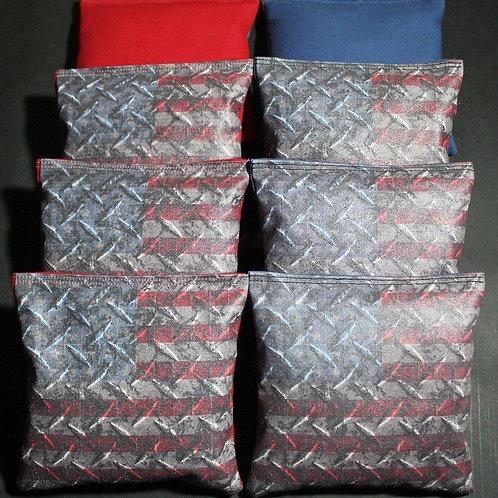 Stars and Stripes Flag Cornhole bags, set of (8)
