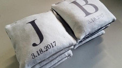 custom wedding bags