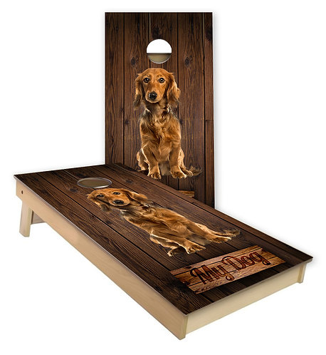 My Dog Cornhole Board Wrap - Personalize with Your Dog