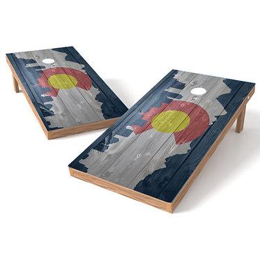 Colorado Cornhole Wrap