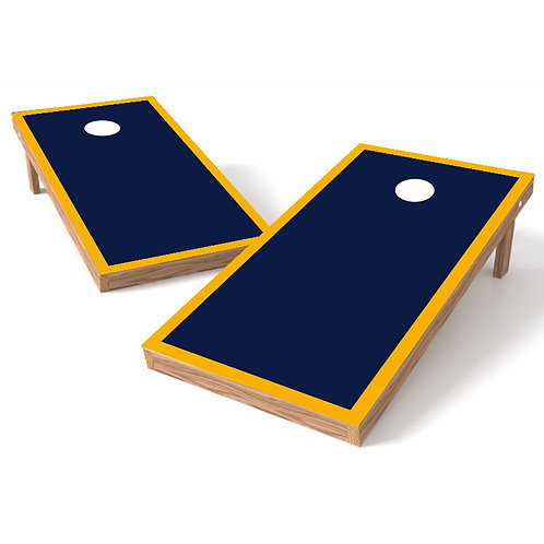 Layout with Border Template Cornhole Board Wrap - Add Logo