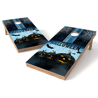 Halloween 4 Cornhole Board Wrap