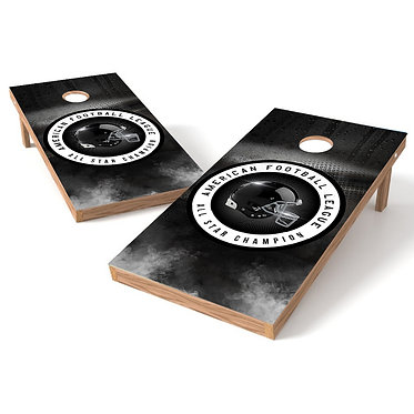 American Football League All Star Cornhole Board Wrap
