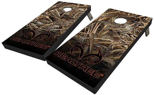 REALTREE MAX 5 SHADOWGRASS CORNHOLE BOARDS - Corn Bags -Free Shippin