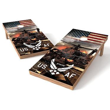 Apache US AF Cornhole Wrap