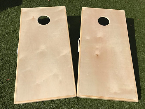 Direct Print Cornhole Board Set - Any Design - FREE Bags & Shipping