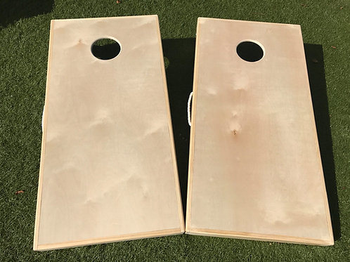 Custom Cornhole Board Set with Design - Free Design, Free Shipping