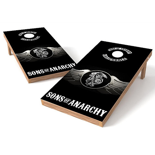 Sons of Anarchy Cornhole Board Wrap