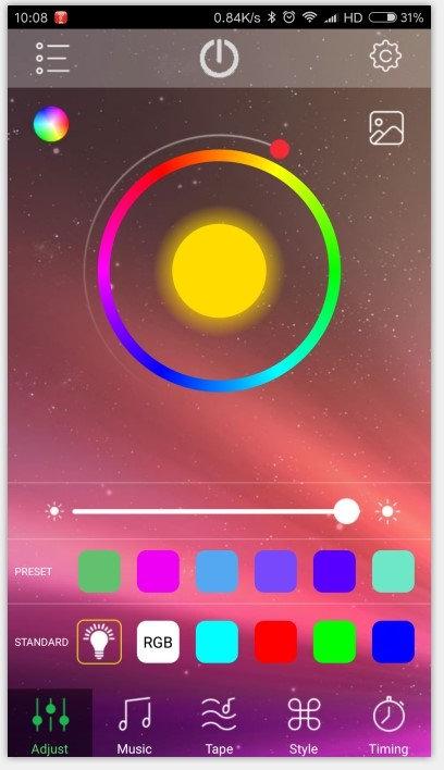 SmartPhone Bluetooth Controlled Cornhole Lights many million Colors