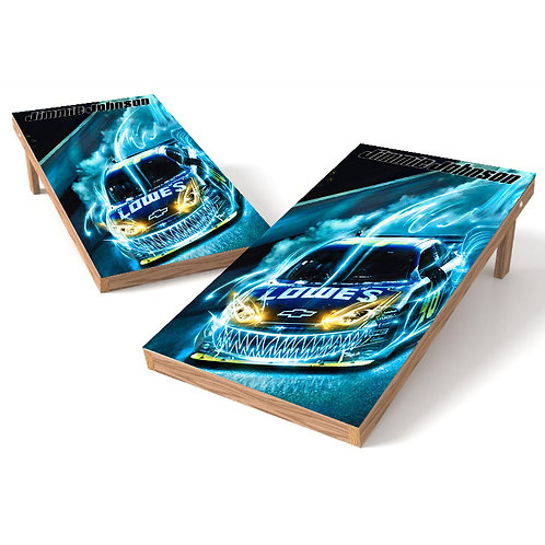 Jimmy Johnson Racing Cornhole Wrap