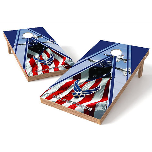 US Air Force Sky Fighter Cornhole Wrap