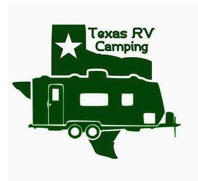 Texas RV Camping Decal Sticker