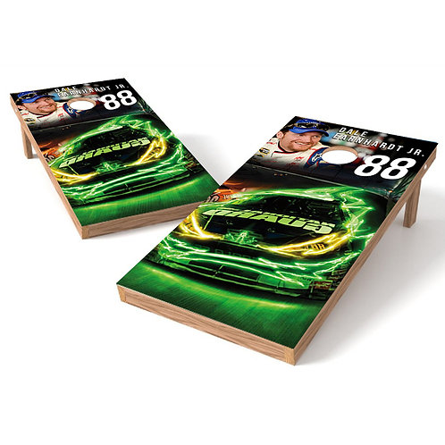 Dale Jr 88 Car Cornhole Wrap