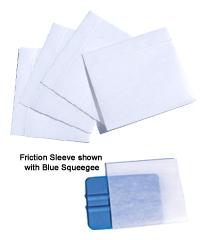 3M squeegee with felt cover