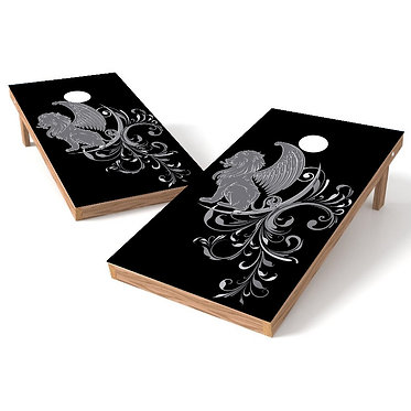 The Griffin Cornhole Board Wrap