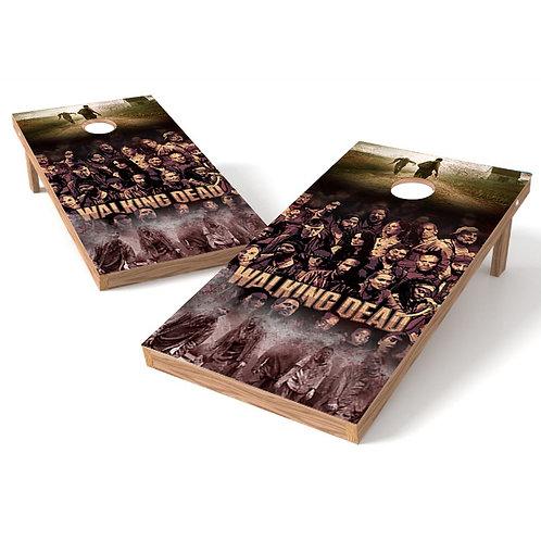 Walking Dead 2 Cornhole Board Wrap