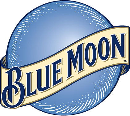 Blue Moon Cornhole Decal Sticker