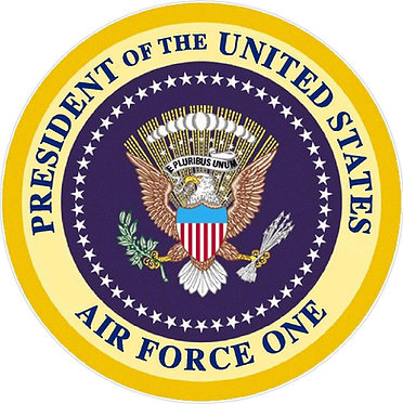 Air Force One Seal Decal