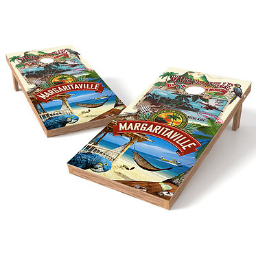 It's 5:00 Somewhere Margaritaville Cornhole Wrap