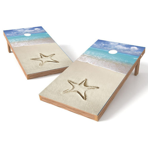 Star On Beach d25