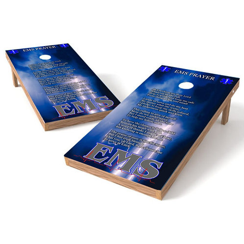EMS Prayer Cornhole Wrap