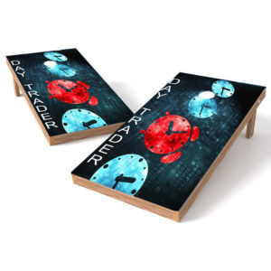 Day Trader Cornhole Wrap