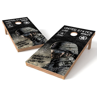 United States Army in the Field Cornhole Wrap