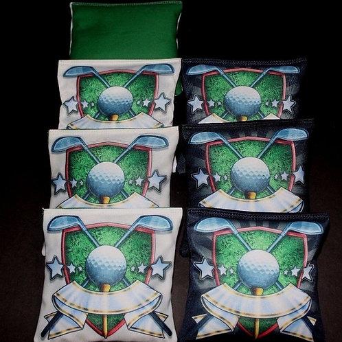 GOLF CLUB MASTERS CHAMPION Cornhole bags, set of (8)
