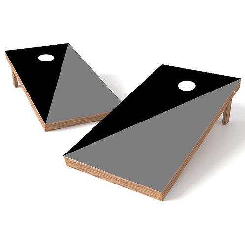 House Divided Background Cornhole Board Wrap - Add Logo