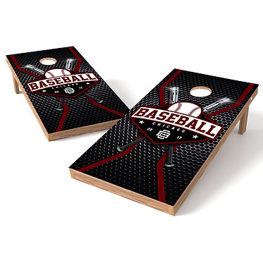 Chicago Baseball Cornhole Board Wrap